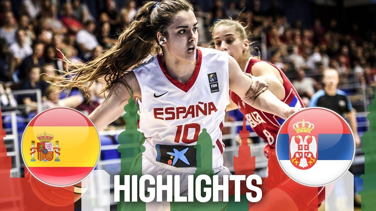 Spain v Serbia - Highlights - Final