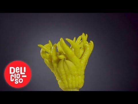 La mano de buda: un cítrico que simboliza buena fortuna   Delicioso