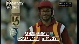 Brian Lara SUPER ENTERTAINING KNOCK OF 88 vs Pak | AKAI SINGER CHAMPIONS TROPHY | Sharjah ,1997