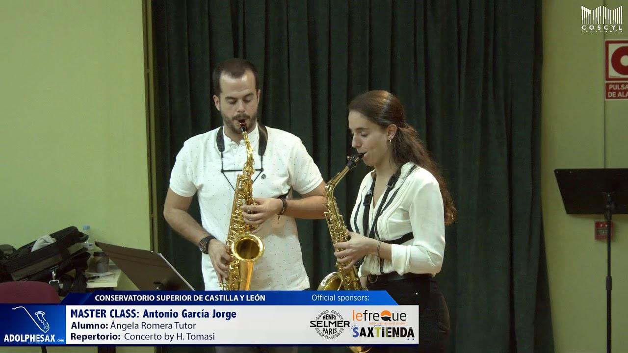 MASTER CLASS - Antonio Garcia Jorge - Angela Romera Tutor (COSCYL)