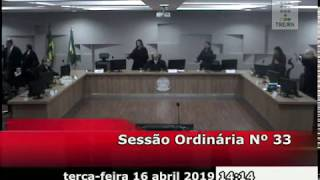 Sessão do dia 16/04/2019.