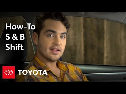 2014 Corolla How-To: S & B Gear Shift Positions | Toyota