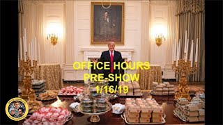 Office Hours Live (1/16/2019)