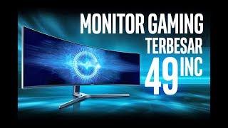 #82 Monitor Gaming 49inc DEWA !!! Samsung CHG90 Ultra wide Curve