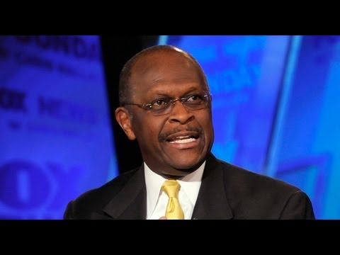 Herman Cain Attacking Obama Over Rev Wright & Defending Joe Ricketts