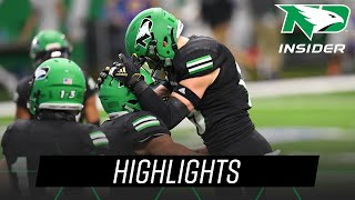 UND Football | Highlights vs South Dakota State | 2.27.21