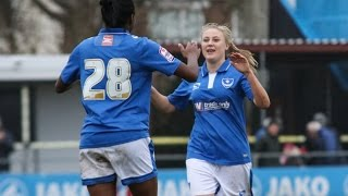 Highlights: Pompey Ladies 7-0 West Ham United Ladies