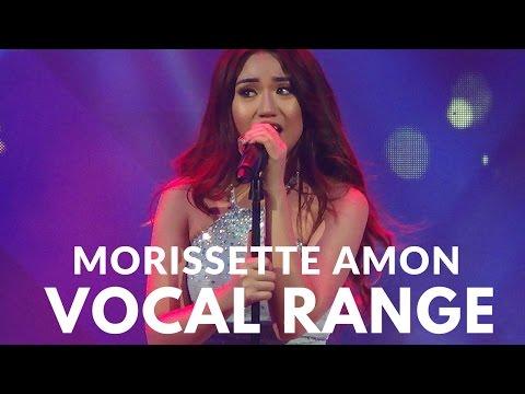 Morissette Amon Vocal Range (C3-E7)