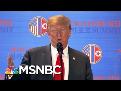 Trump Praises Kim Jong Un After Nuclear Summit And Attacks His Critics | The 11th Hour | MSNBC Mp3
