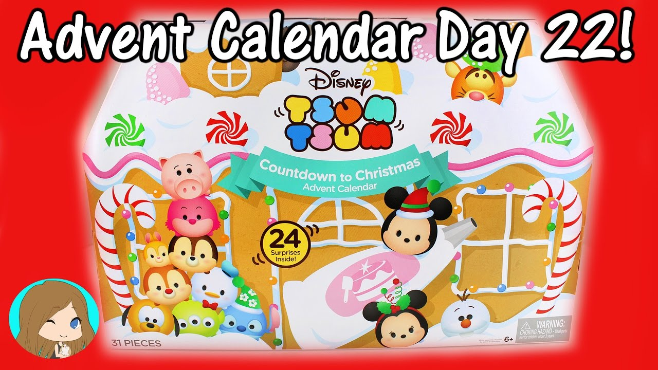 disney tsum tsum christmas advent calendar 2016 day 22. Black Bedroom Furniture Sets. Home Design Ideas