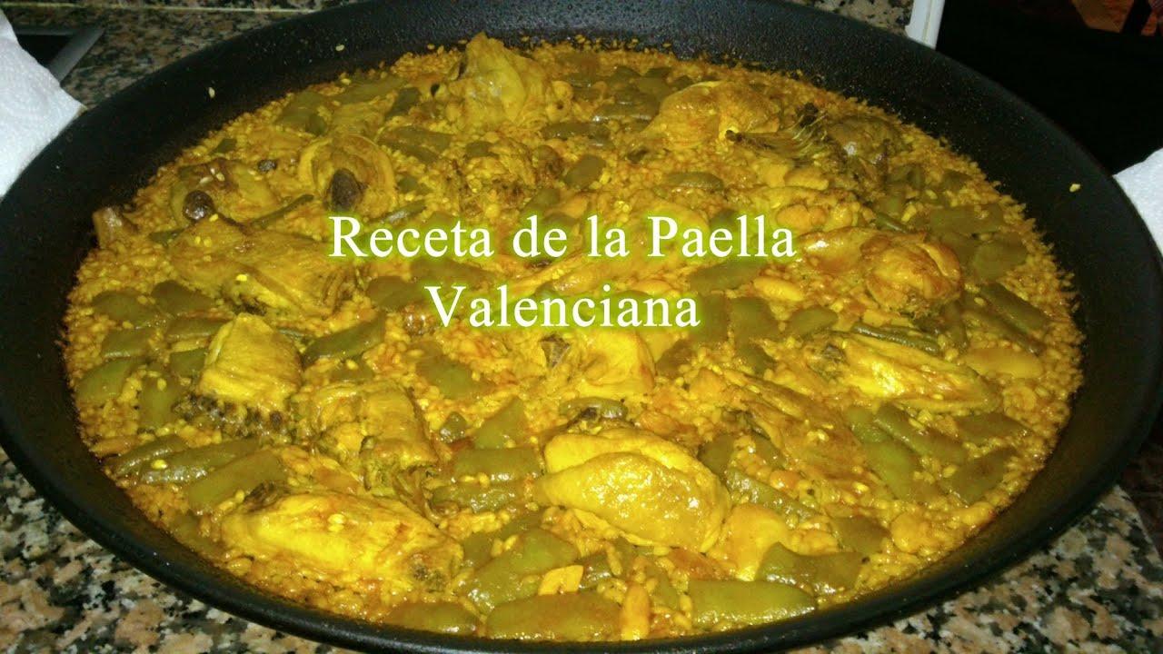 Cocina Valenciana Tradicional | La Autentica Receta De La Paella Valenciana Youtube