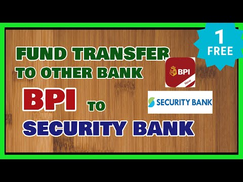 Bpi Fund Transfer How To Send Money From Bpi To Security Bank Using Gcash For Free Youtube
