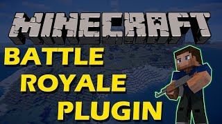 Play Fortnite in Minecraft with Battle Royale Plugin