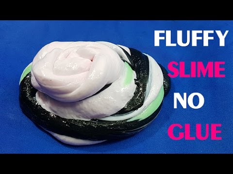 DIY 4 Ways To Make Fluffy Slime Without Glue ! New Best ...