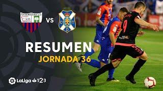 Resumen de Extremadura UD vs CD Tenerife (1-0)