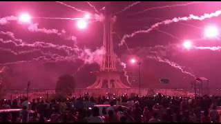 Amazing Fireworks on 14th August 2018 at Minar e Pakistan