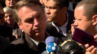 """Bolsonaro SOLTA O VERBO contra manifestantes sobre suposto """"corte de 30% da educação"""""""