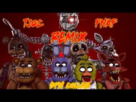 [FNAF/TJOC SFM] TJOC + FNAF Remix COLLAB