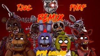 FNAF TJOC SFM TJOC FNAF Remix COLLAB