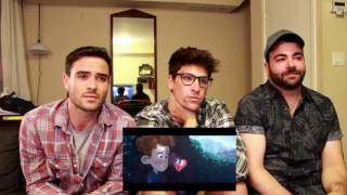 3 Guys React to In a Heartbeat Short Film!
