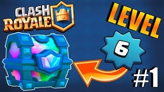 IS IT POSSIBLE TO REACH ''LEGENDARY ARENA'' AS LEVEL 6? :: Clash Royale :: LEGENDARY CHEST OPENING!