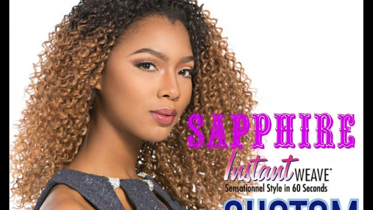 Sensationnel Stocking Cap Instant Weave Custom Fit Sapphire
