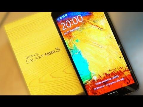 Galaxy Note 3 Black