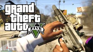 GTA 5: FIRST PERSON GAMEPLAY on PS4!! (GTA 5 First Person PS4 Gameplay)