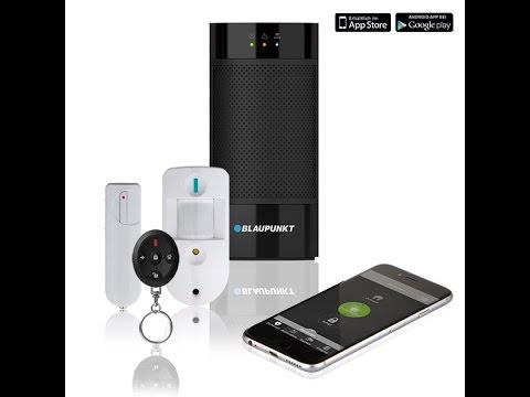 smart home alarmanlage blaupunkt q3200 im test youtube