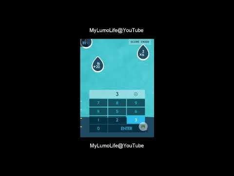 Let's Play - Lumosity - Tablet / iPad App - Raindrops - 43500 Score - Brain  Games 2018