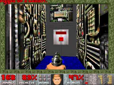 Doom 1 (Guía) Episodio 1 [Mapa 1,2 y 3] ''Hangar'' ''Nuclear Plant'' ''Toxin Refinery''