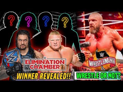 Elimination Chamber 2020 Winner Revealed! | Triple H Wrestle Or Not WWE Wrestlmania 36??