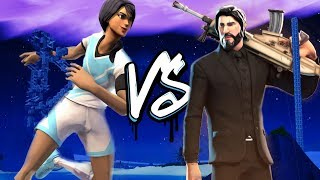 Fortnite Rap Battle - Sweaty Soccer Skin vs John Wick