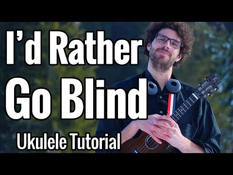 Etta James - I'd Rather Go Blind (Ukulele Tutorial)