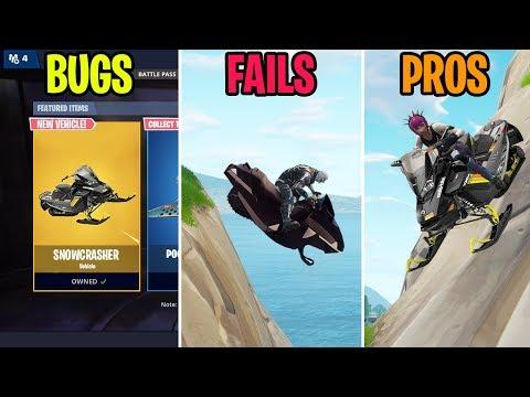How to Unlock the SNOWCRASHER! BUGS vs FAILS vs PROS