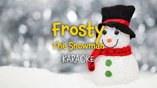 Frosty the Snowman (instrumental with lyrics - karaoke video)