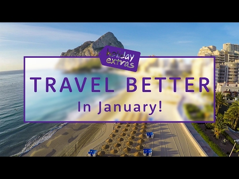 Where to go in January 🌍✈️ | Travel Better with Holiday Extras!