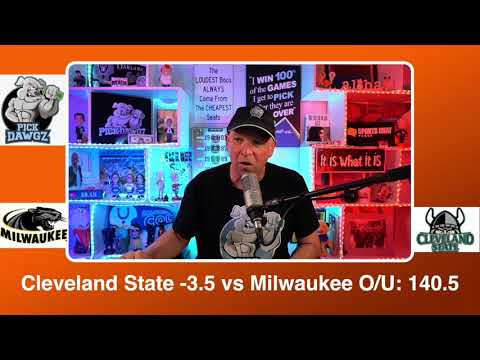 Cleveland State vs Milwaukee 3/8/21 Free College Basketball Pick and Prediction CBB Betting Tips