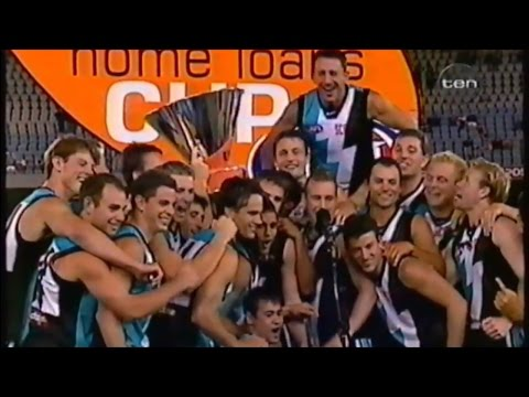 2002 Wizard Cup Grand Final - Richmond vs Port Adelaide