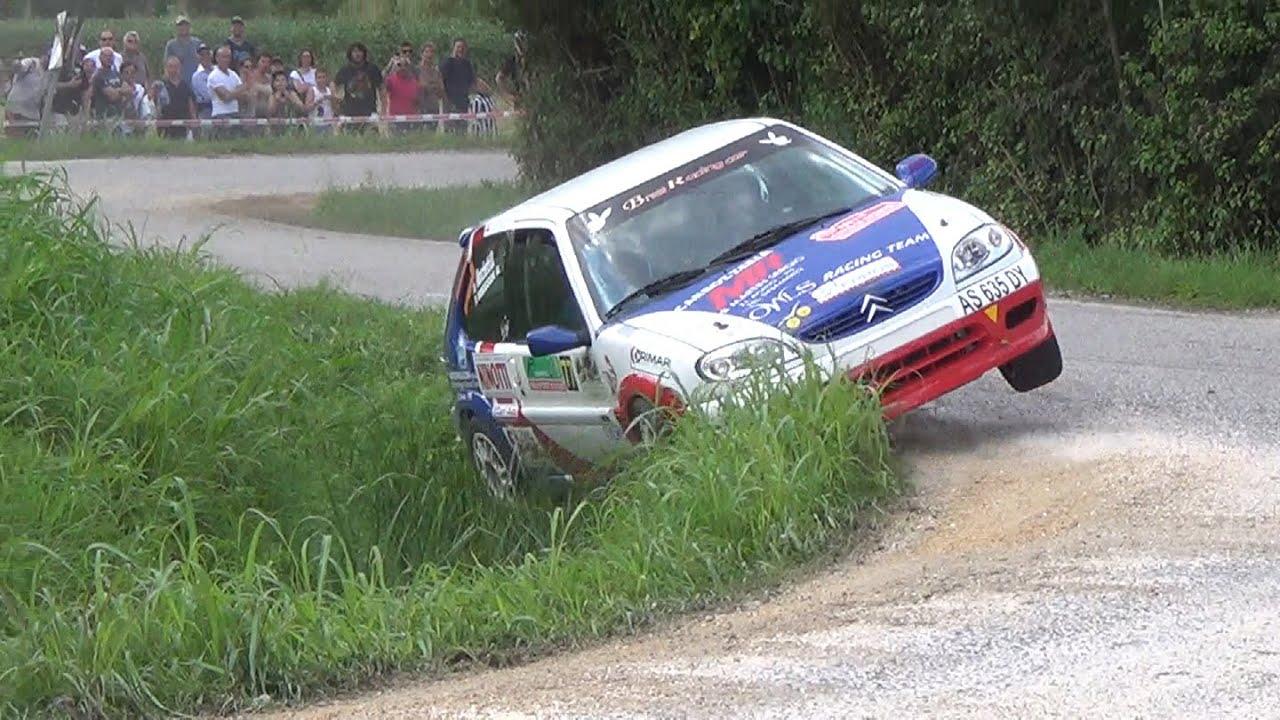 11 rally citta di scorz 2014 crash show and pure sound