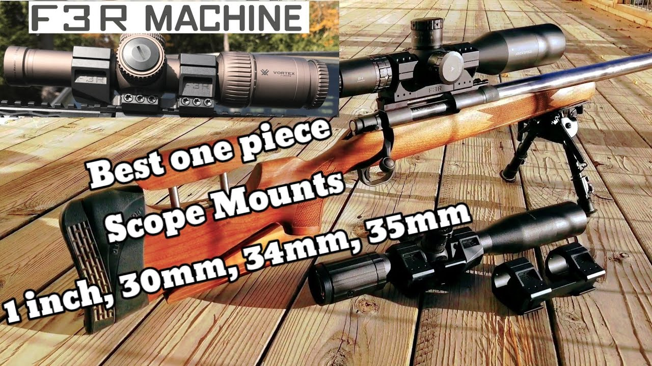 F3RMachine 1 piece Scope Mounts | Best scope mounts for the price