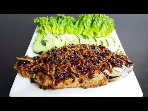 Fried Fish With Ginger *( ចៀនចួន )* - Khmer