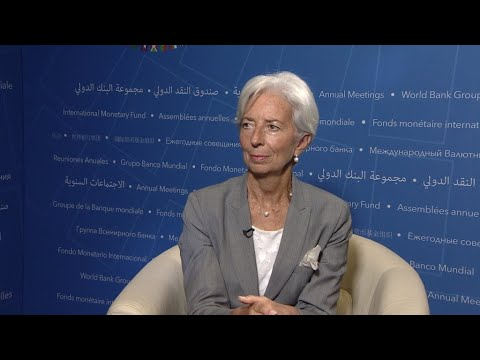 IMF chief: 'It's the first time in a decade that we have such a strong recovery'