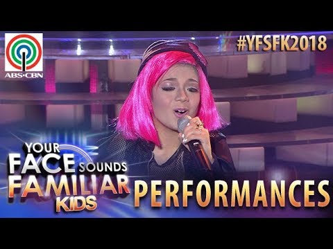 Your Face Sounds Familiar Kids 2018: Marco Masa as Yeng Constantino | Paasa T.A.N.G.A