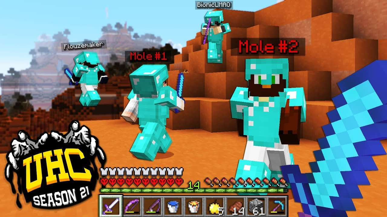 the ultimate MOLE team is united, welcome Doni   (Cube UHC S21)
