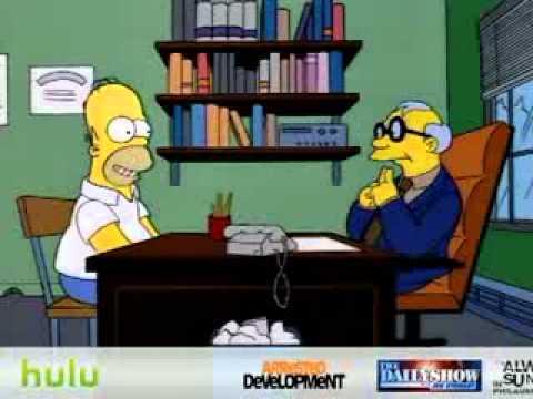 Simpsons Homer decides to teach سيمبسونز