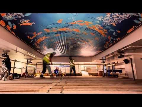 Barrisol® Print Stretch Ceiling Installation