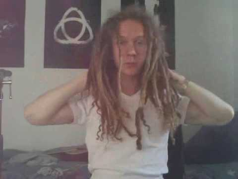 Natural Curly Freeform Dreadlocks 4-Years (Final Video)