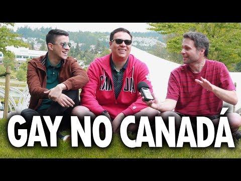 COMO É SER GAY NO CANADÁ? EXISTE PRECONCEITO E HOMOFOBIA? feat. Will e Greg