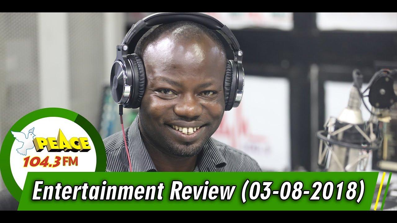 ENTERTAINMENT REVIEW ON PEACE 104.3 FM (03/08/2019)
